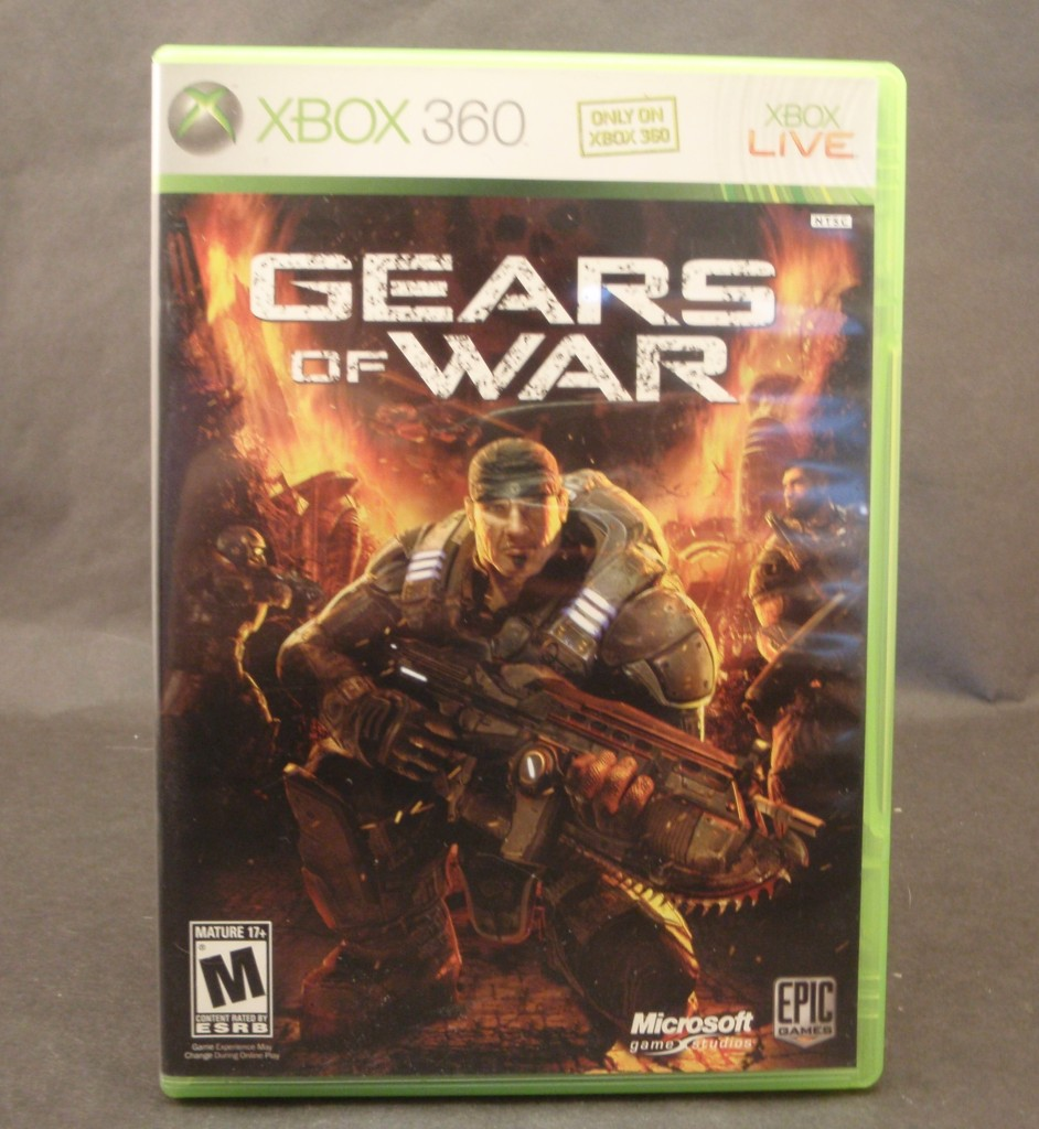 Gears Of War Xbox 360 2006 Complete Kc S Attic