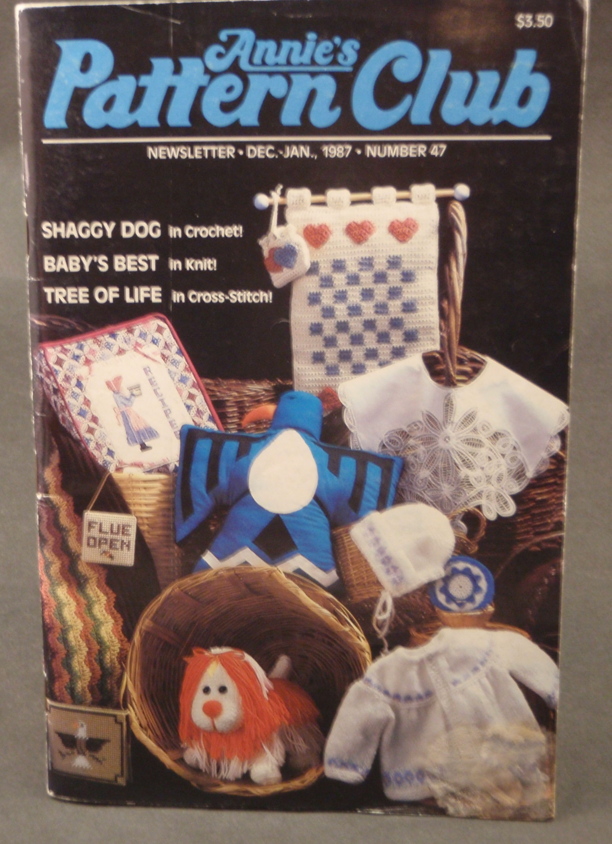 Annie S Pattern Club Newsletter 47 Shaggy Dog Baby S Best