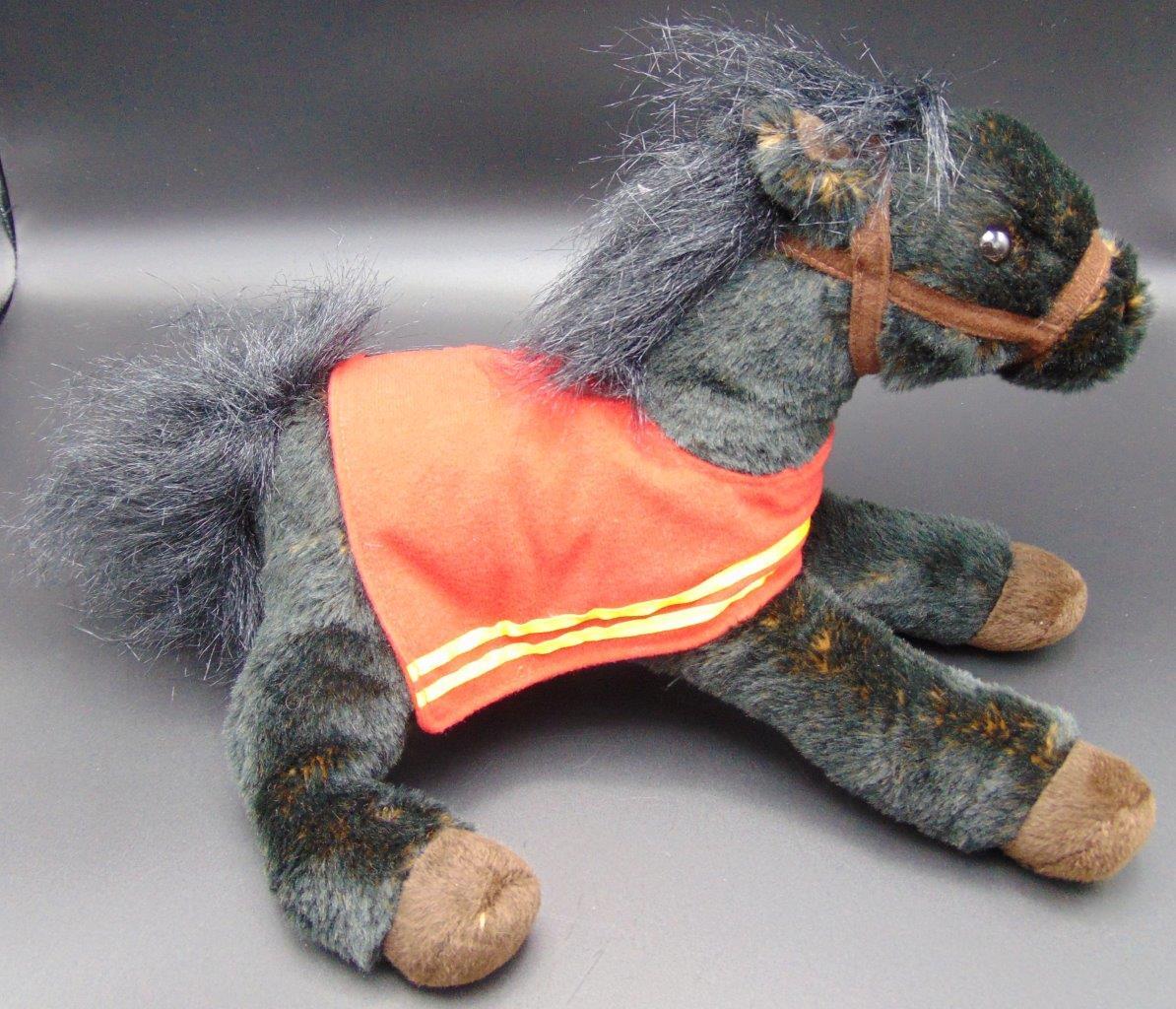 2016 Wells Fargo Legendary Black Horse Mike Stuffed Animal Plush