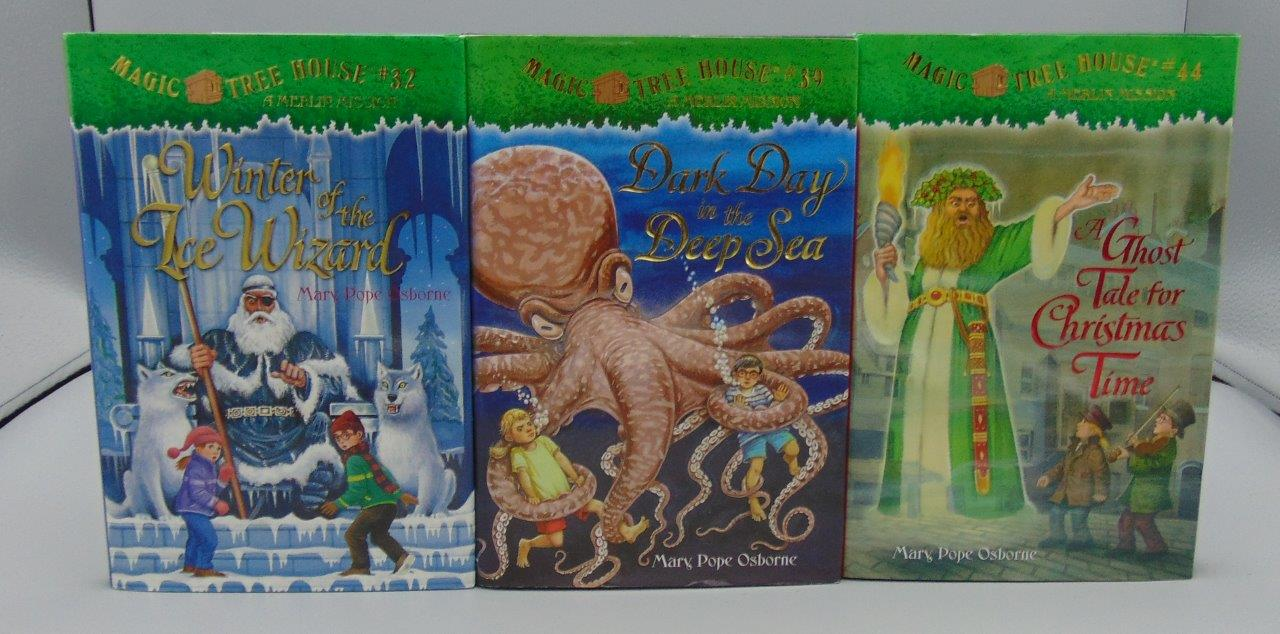 Magic Treehouse 3 Part - 45: Magic Tree House Books Lot Of 3 By Mary Pope Osborne