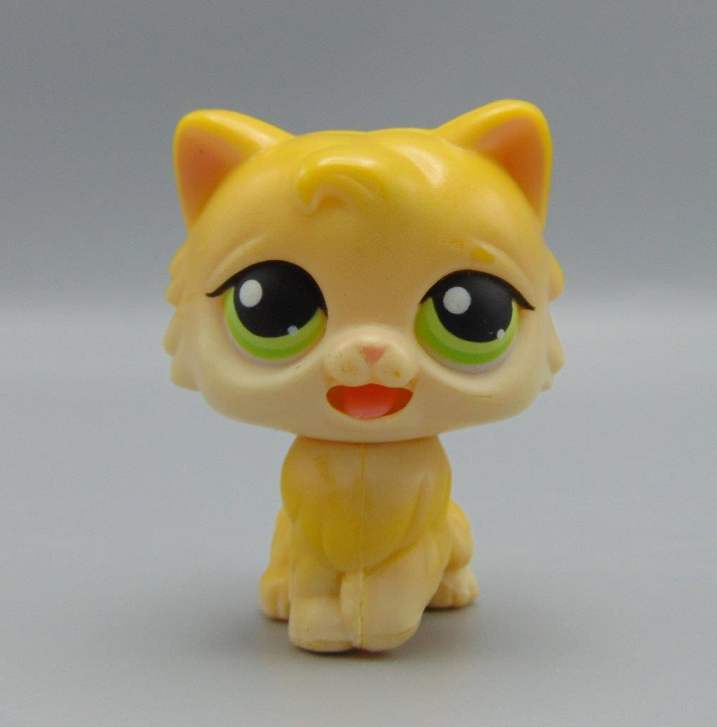 Littlest Pet Shop Lps Mm 01 Push N Play Yellow Persian