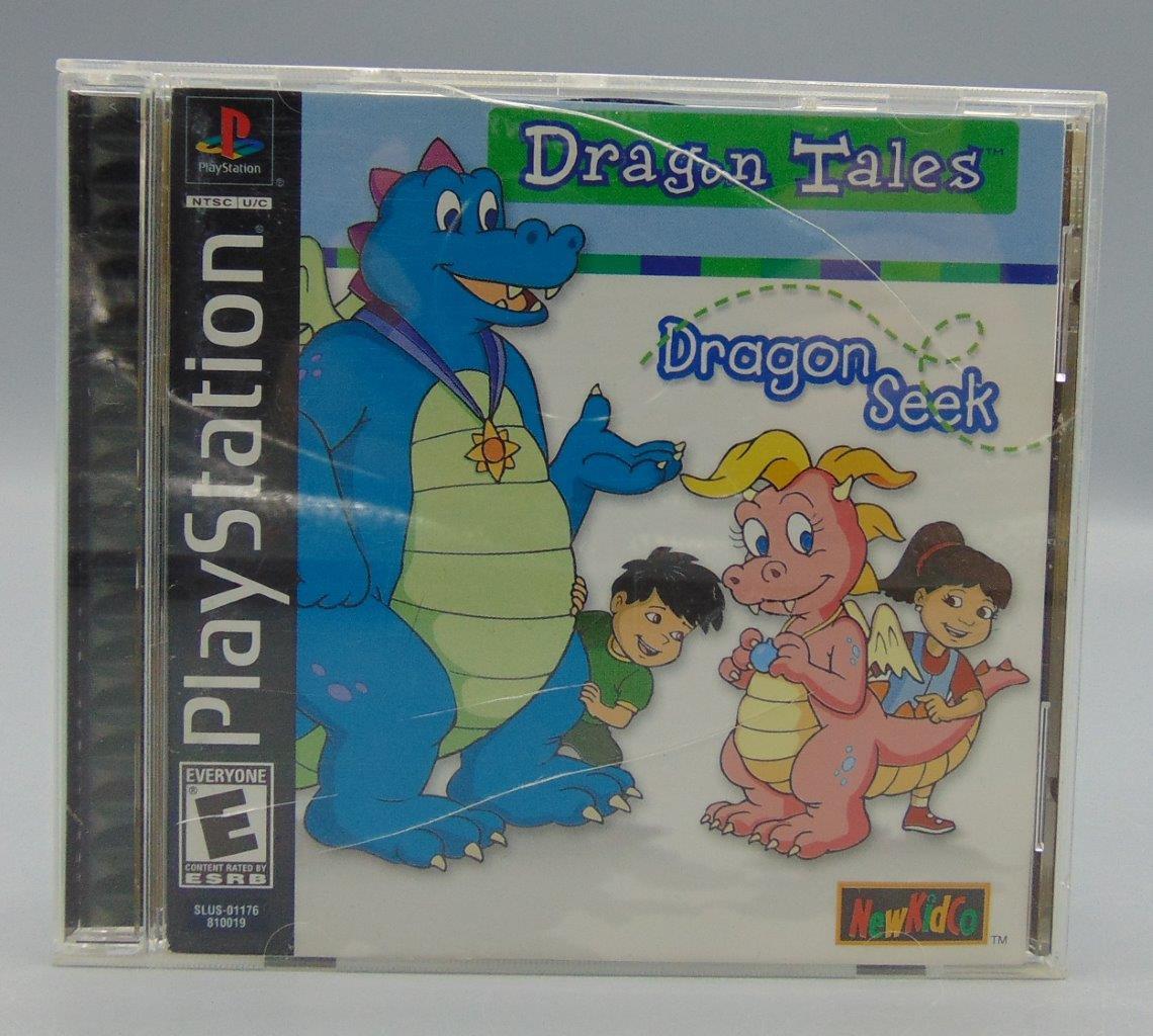 Dragon Tales Dragon Seek (Sony PlayStation 1, 2000) PS1