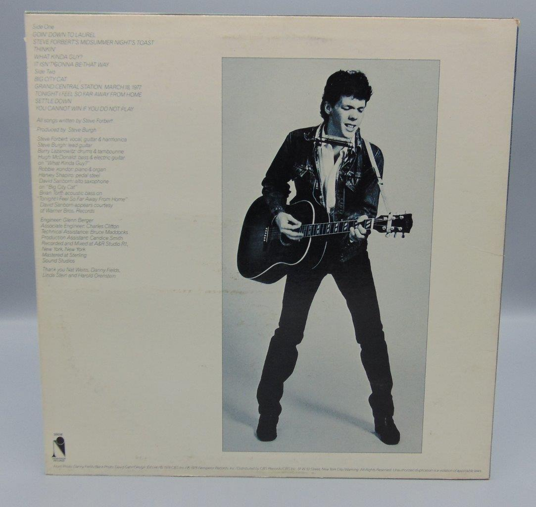Steve Forbert Alive On Arrival LP EPC 83308 Epic RecordsSteve Forbert Alive On ArrivalEpic RecordsRecord Album/LPUngraded. Untested. Needs to be cleaned. Exact copy shown is the album you will receive. We have a 30 Day return policy if you are not satisfied with your purchase. Please do not ask me questions about condition, as I am not knowledgeable about records. Please see photos. Happy Bidding!