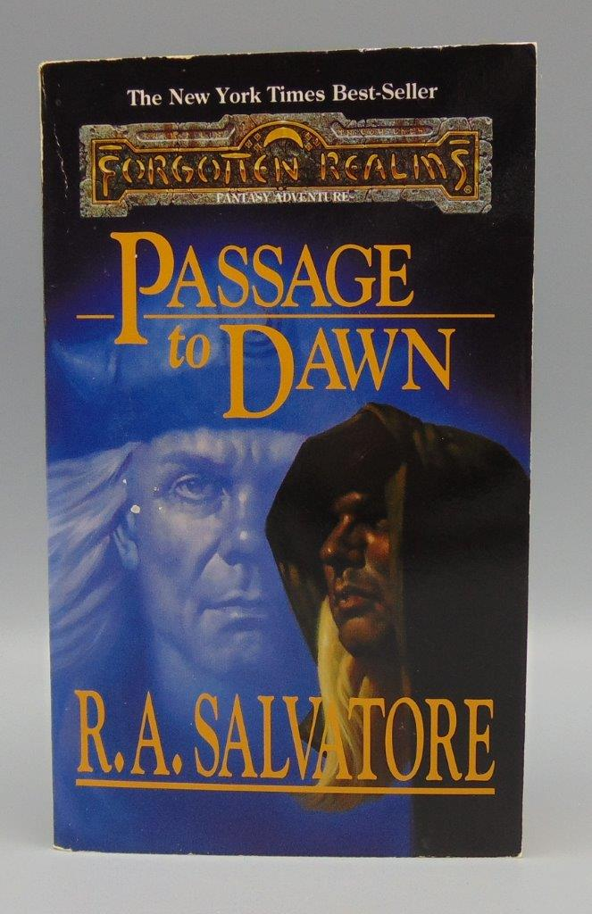 Passage To Dawn Legacy of the Drow Vol /Book 4 (IV) The Legend of Drizzt  Vol /Book 10 (X) R A  Salvatore Forgotten Realms