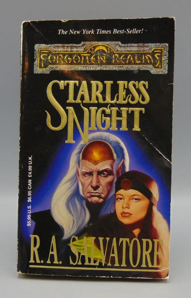 Details about Starless Night Legacy of The Drow Vol /Book 2 (II) The Legend  of Drizzt Vol /