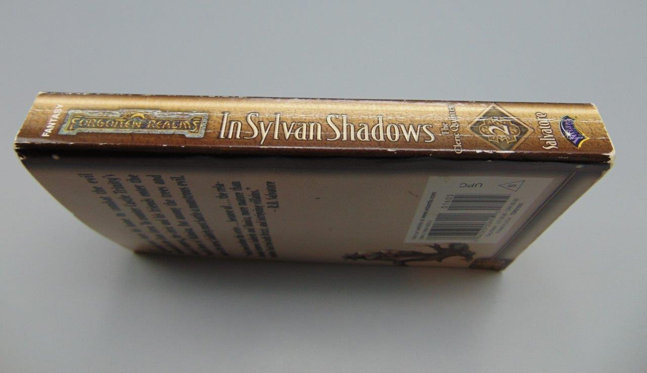 The Cleric Quintet In Sylvan Shadows Vol /Book 2 (II) Paperback R A   Salvatore Forgotten Realms