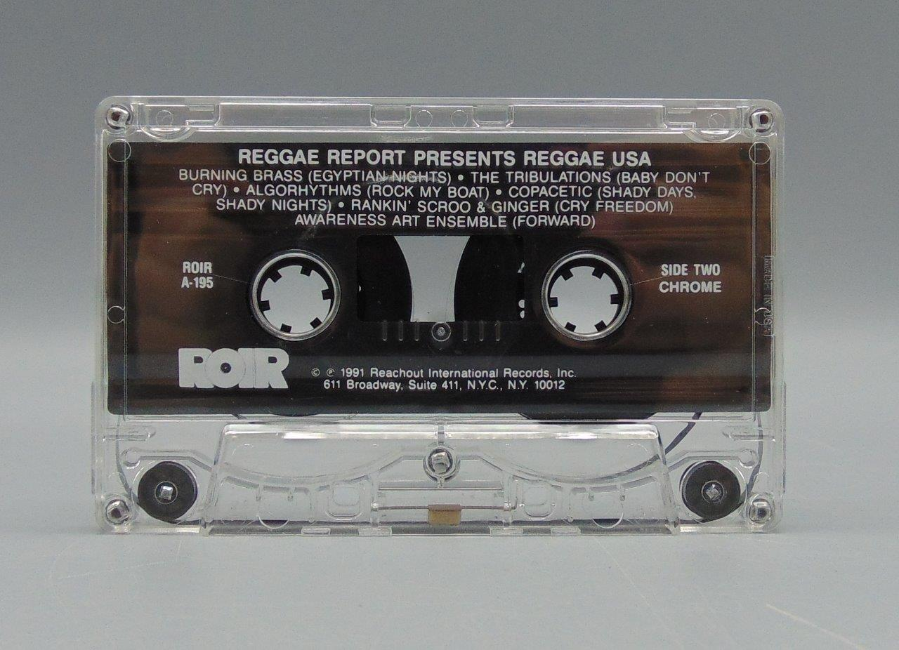 Reggae Report Presents Reggae USA (Audio Cassette, 1992, ROIR) A-195