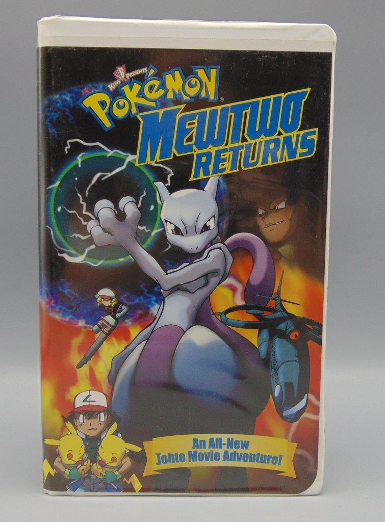 Pokemon Mewtwo Returns Vhs 2001 Clamshell 85392214235 Ebay