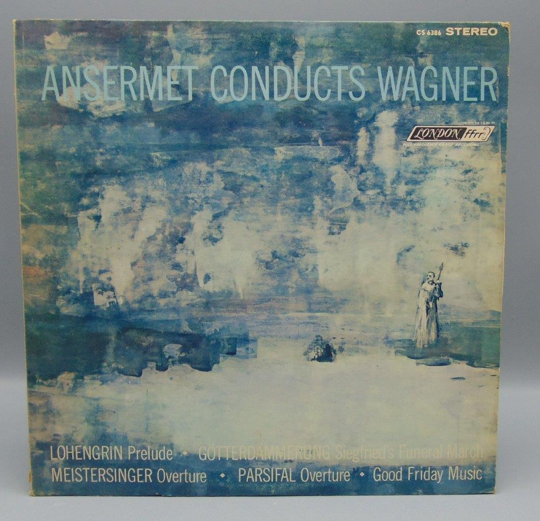 Ansermet Conducts Wagner L Orchestre De La Suisse Romande Lp Cs 6386 London R Ebay